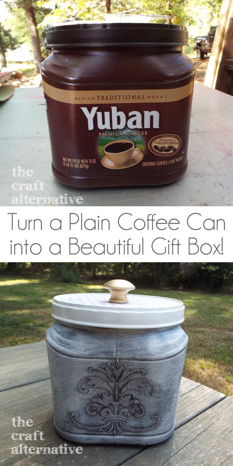 an easy gift box to make the craft alternative On plastic containers for crafts