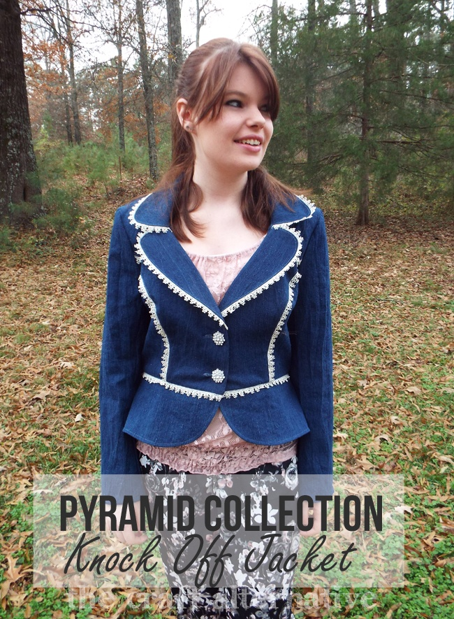Pyramid Collection Knock Off Jacket