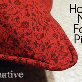 Make a Decorative Edge for a Pillow