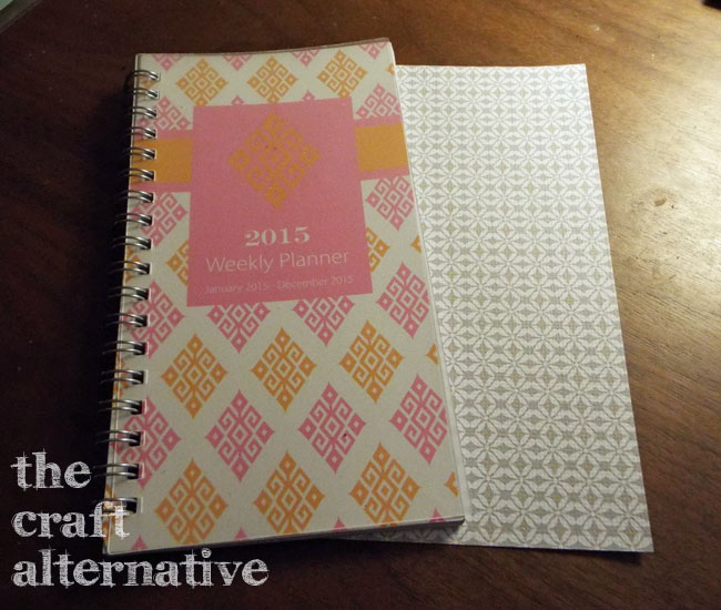 Add Tabs to a Weekly Planner_Planner & Cardstock