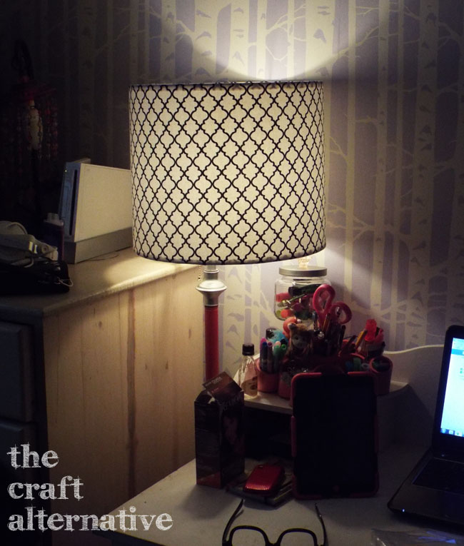 How to Make a Lamp Shade_Daughter