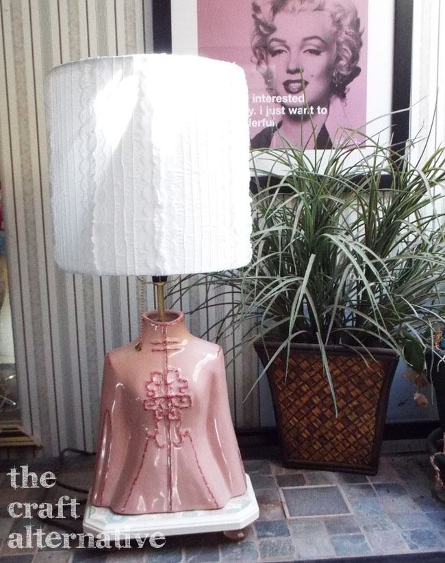 How to Make a Lamp Shade_Finished One