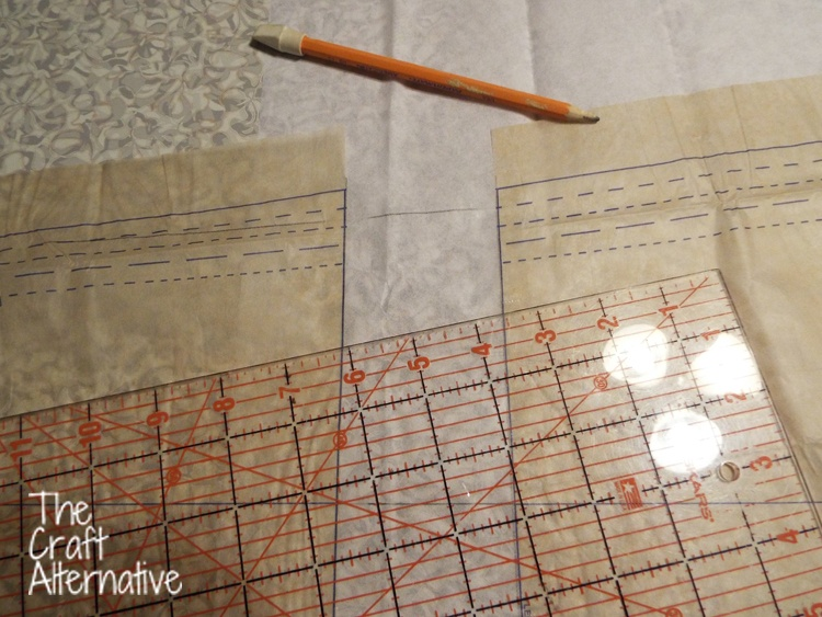 How to Lengthen a Pants Pattern_Side Seams