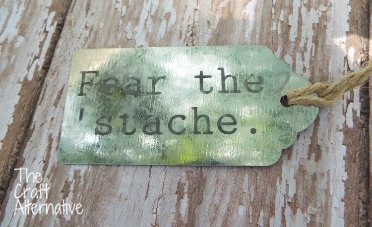 How to Etch Metal Tags with an Air Eraser_Galvanized