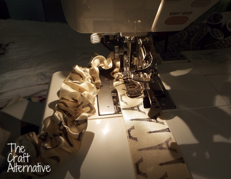 How to Use a Ruffler on a Sewing Machine_Ribbon