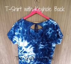 A Fabulously Stylish T-Shirt with an Open Back