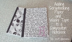 Back to School Upgrade – Composition Notebook
