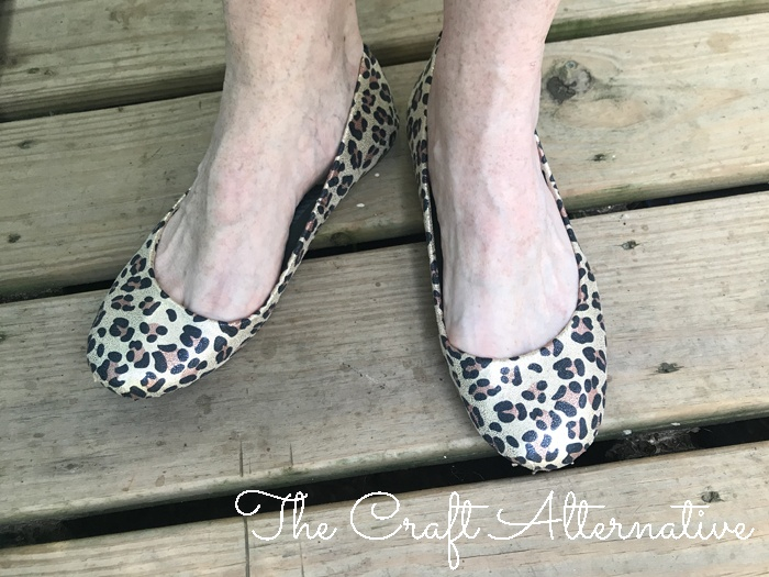 how to cover canvas flats fabric worn