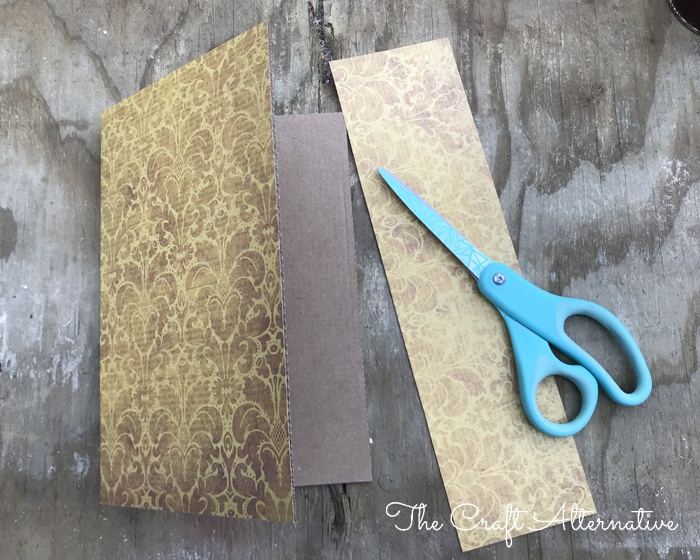 how to make a ribbon notebook_paper